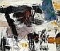 Michael Goldberg (American, 1924-2007) Oregon Territory, 1959 30 1/4 x 35in (76.8 x 88.9cm), Michael Goldberg, Click for value
