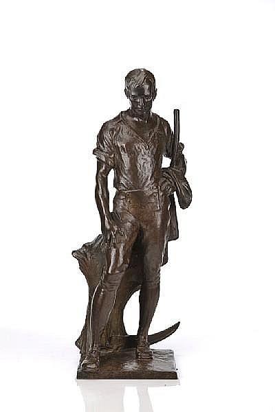 Robert Ingersoll Aitken (American, 1878-1949) Ode to Robert Burns height 26 1/5in