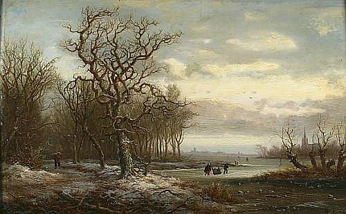 (n/a) Hendrick Barend Koekkoek (Dutch, born 1849)