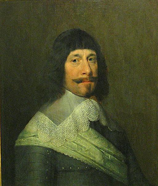 Attributed to Jan Janz. Westerbaen Sr (Dutch, circa 1600-1686) A portrait of a gentleman, quarter-length, wearing armor 26 3/4 x 22 1/2in