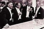 SLIM AARONS (1916-2006) Kings of Hollywood (Clark Gable, Van Heflin, Gary Cooper and James