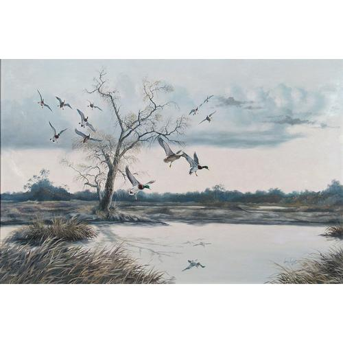 Larry Toschik Canada Geese Oil