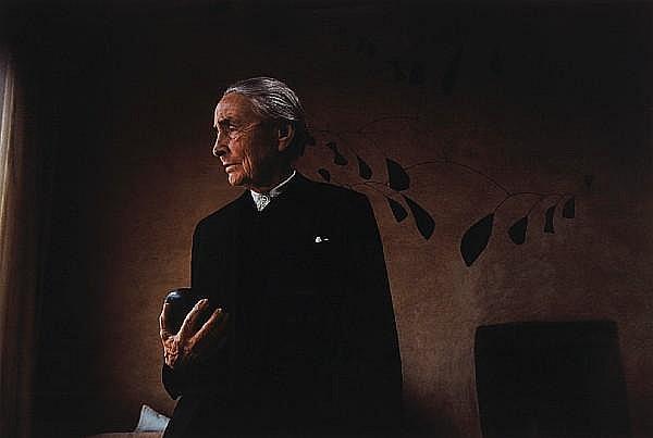 Dan Budnik (American, born 1933); Georgia O'Keeffe, Abiquiu, New Mexico;
