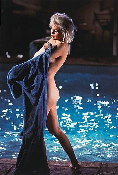 Lawrence Schiller (American, born 1936); Marilyn Monroe at the Pool;