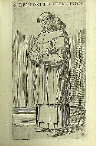 FIALETTI, ODOARDO. 1573-c.1638. De gli habiti delle religioni con le armi, e breve descrittion loro. Venice: Marco Sadeler, 1626.