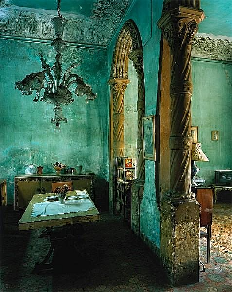 Michael Eastman (American, born 1947); Green Dining Room, from Cuba series;