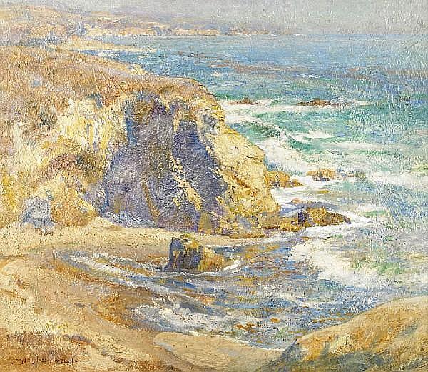 Douglass Ewell Parshall (American, 1899-1990) 'Refugio Coast', 1924 24 x 28in