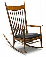 Sam Maloof (American, 1916 2009) Rocking Chair, 19