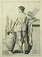 Simon Francois (I) Ravenet (French, 1706-1774); Nude, Pl. III;, ? (1750) Simon, Click for value