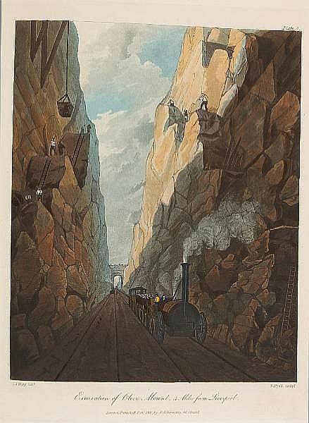 BURY, THOMAS TALBOT. 1811-1877.