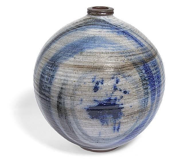 Vivika and Otto Heino (American, 1910-1995 and 1915-2009) spherical vase