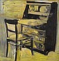 Roger Herman (German, born 1947) Chair and Desk, 1986 22 x 21in, Roger Herman, Click for value