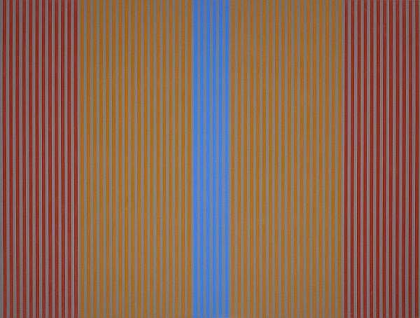 Karl Stanley Benjamin (American, born 1925) #7, 1978 50 x 66 1/2in