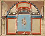 Angelo Campanella (Italian, 1746-1811) after Anton Raphael Mengs and Anton von Maron Interior Scenes of the Palace of the Emperor Antoninus Pius 2
