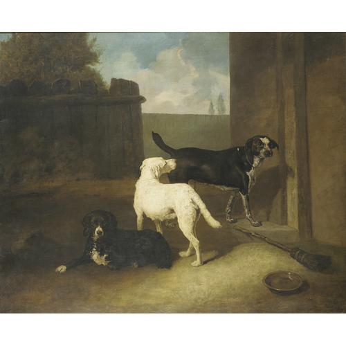 Abraham Cooper RA (British 1787-1868) Sporting dogs, belonging to Lord Charles Vere Ferrers Townshend 25 1/4 x 29 3/4 inches (64 x 76 cm.)