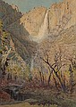 Gunnar Widforss (1879-1934) Yosemite Falls, 1926 14 1/2 x 10 1/2in, Gunnar Mauritz Widforss, Click for value