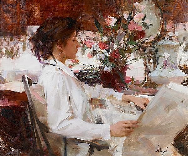 Richard Alan Schmid (American, born 1934) Carly, 1992 20 x 24in