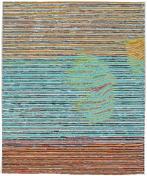 Steven Charles (American/British, born 1967) Fiminose, 2002 19 1/4 x 15 3/4in (48.8 x 40cm)