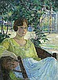 Louise Eleanor Zaring (American, 1872-1970) , Louise Eleanor Zaring, Click for value