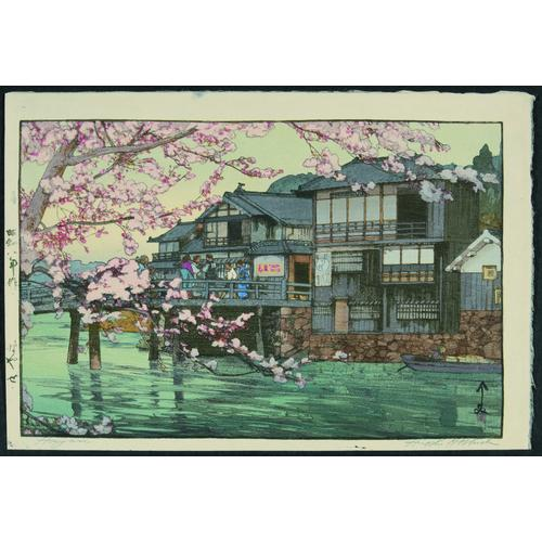 Hiroshi Yoshida: four modern prints
