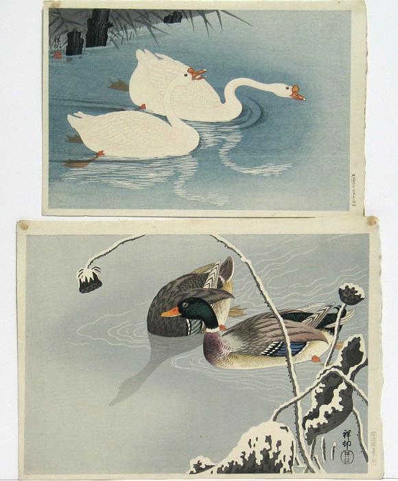 Ohara Shoson (1877-1945): eight modern prints