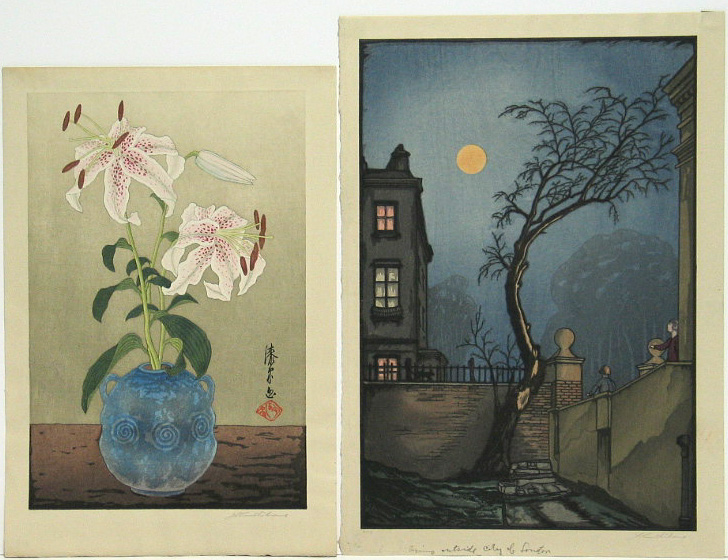 Urushibara Mokuchu (1888-1953): seventeen modern prints