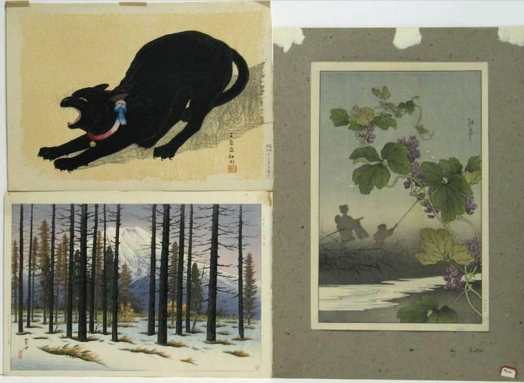 Various Artists: seven modern prints