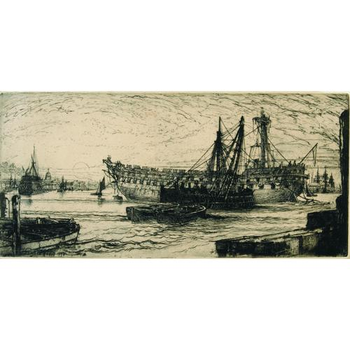 Sir Francis Seymour Haden, (2), etchings
