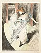 Alfredo Müller (Italian, 1869-1940); Devant la rampe;, Alfredo Muller, Click for value