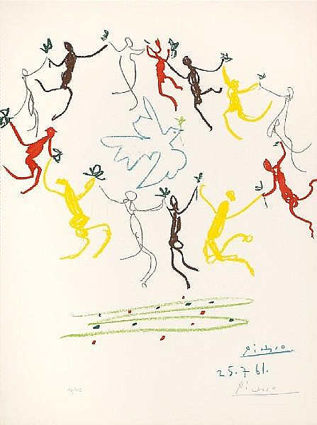 After Pablo Picasso; La Ronde de la Jeunesse;