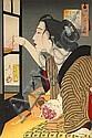 Tsukioka Yoshitoshi (1839-1892) Twelve woodblock prints, Tsukioka Yoshitoshi, Click for value