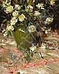 Richard Alan Schmid (American, born 1934) White roses, 1967 30 x 24in, Richard Alan Schmid, Click for value