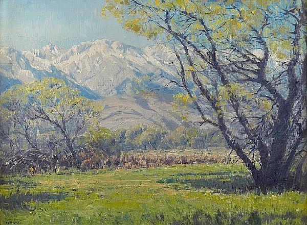 Sam Hyde Harris (American, 1889-1977) Eastern Sierras 22 x 30in