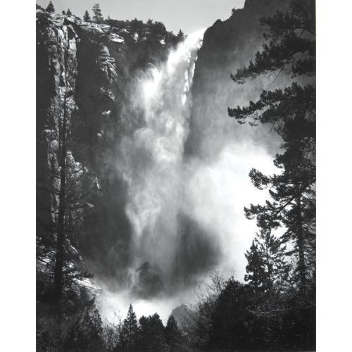 Ansel Adams, Bridalveil Fall, photograph