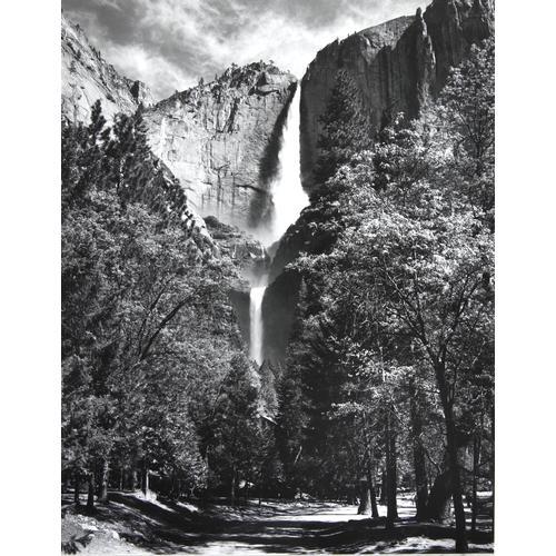 Ansel Adams, Yosemite Falls, photograph