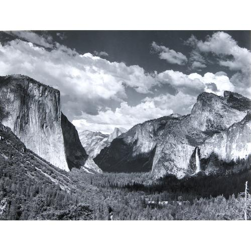 Ansel Adams, Valley View, photograph