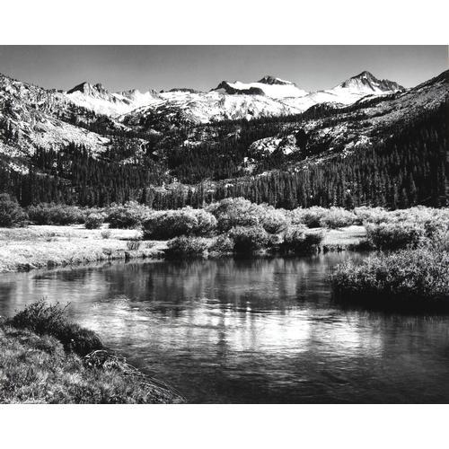 Ansel Adams, Mt. Lyell and Mt. Mcclure, photo