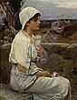 Alfred Seifert (Czech, 1850-1901) Hypatia 19 3/4 x 15 1/2in (50.2 x 39.4cm), Alfred Seifert, Click for value