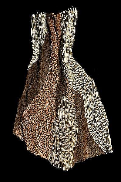 Nnenna Okore (Nigerian, born 1975) Nlecha, 2009 72 x 50 x 7in (183 x 127 x 17.8cm)