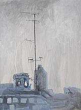 TONY OURSLER (b. 1957) Blue Antenna, 1998