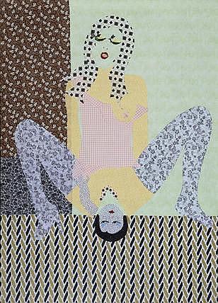 LARA SCHNITGER (b. 1969) Sexy Bitch, 2006