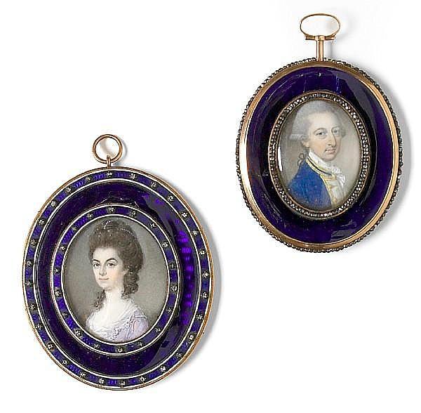 Attributed to Samuel Cotes (British, 1743-1818)