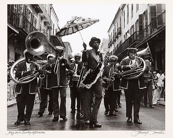 Johnny Donnels (American, 1924-2009); Photographs from the French Quarter, New Orleans; (6)