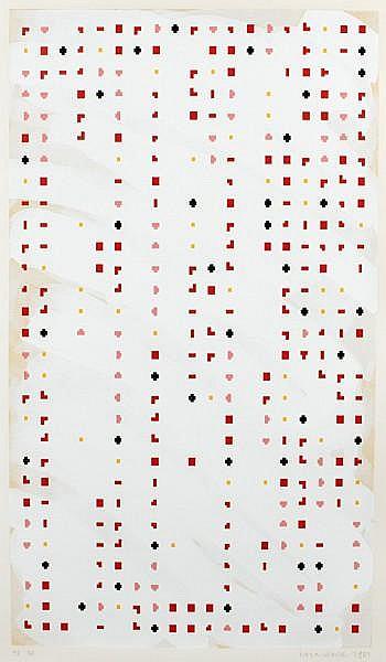 Brian Clarke (British, born 1953); Time Lag Zero;