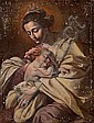 Circle of Francesco Guarino (Italian, 1611-1654) Madonna and Child 38 x 29 1/2in (96.5 x 74.9cm), Francesco Guarino, Click for value