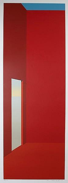 Peter Lodato (American, born 1946); Red Door;