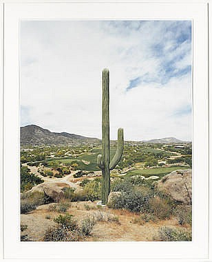ROBERT VOIT (BORN 1969) Desert Mountain, Scottsdale, Arizona, 2005; Mobile
