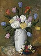 Alexander Warshawsky (American, 1887-1945) Still Life with Tulips 28 1/2 x 20 1/2in, Alexander Warshawsky, Click for value