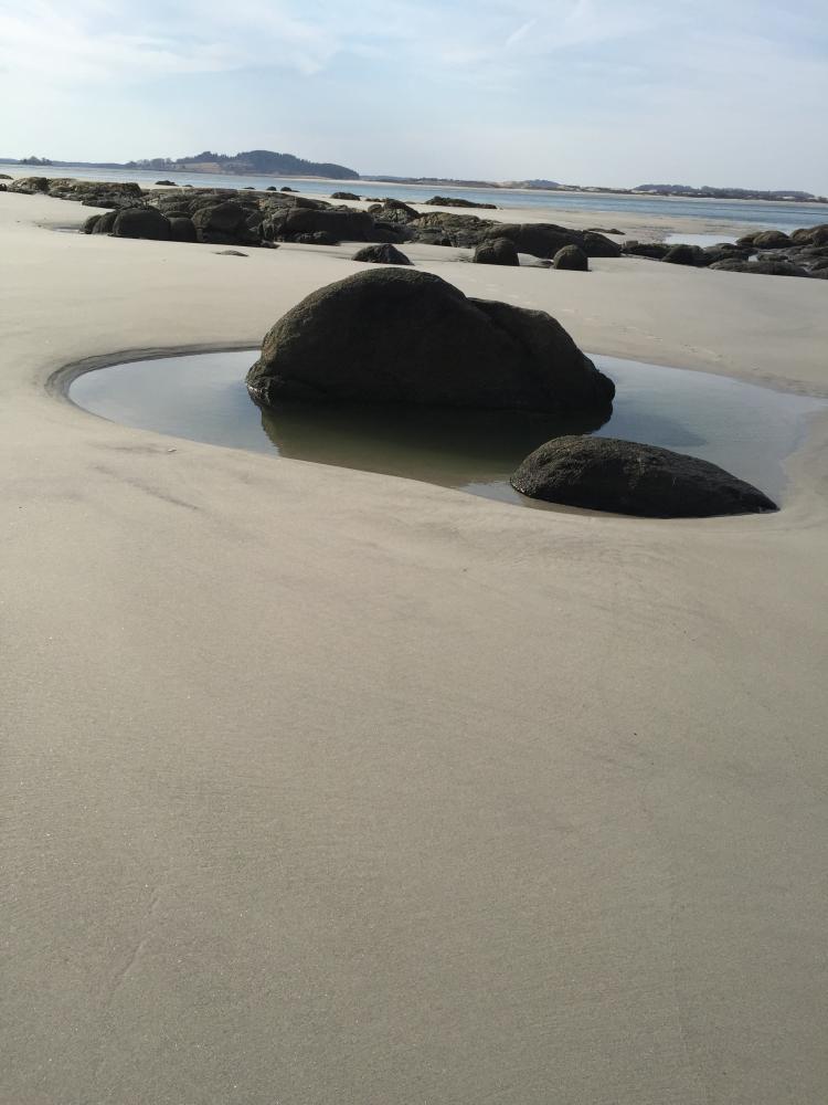 Zen Beach by Karen Watson