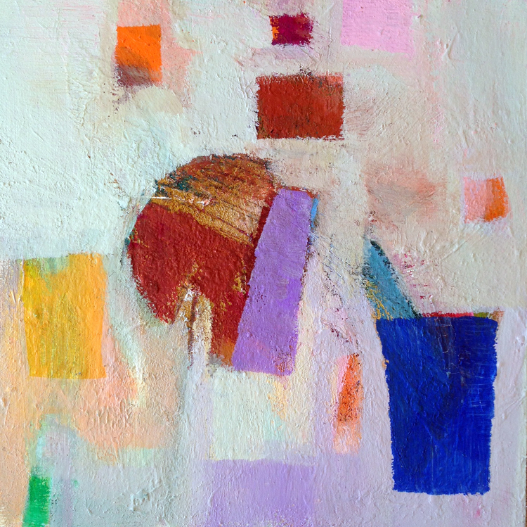 Poetry of Color A by Sirarpi Heghinian-Walzer